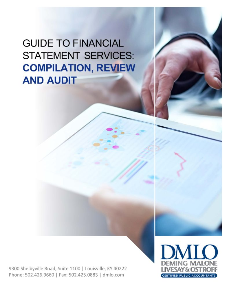 Guide To Financial Statement Services