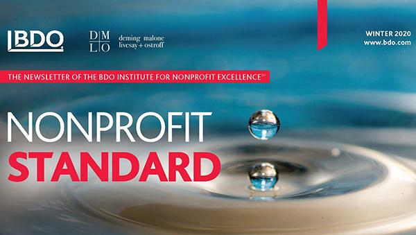 Nonprofit Standard Winter 2020