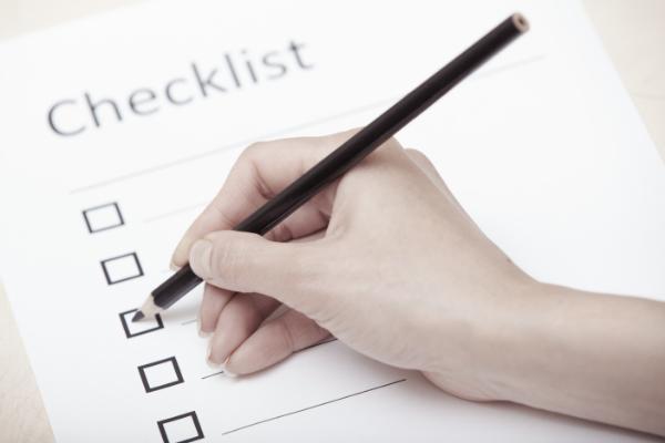 Business Document Checklist